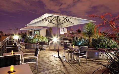 Le Quarante Trois Cocktail Bar La Terrasse Parisienne De