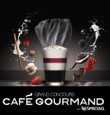 Nespresso lance son concours Café Gourmand