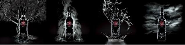 Nouvelle bouteille Nuit pour Clan Campbell