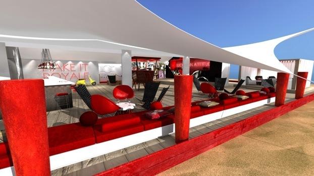 Terrazza MARTINI® / Terrasse designée par Antoine Ortoli