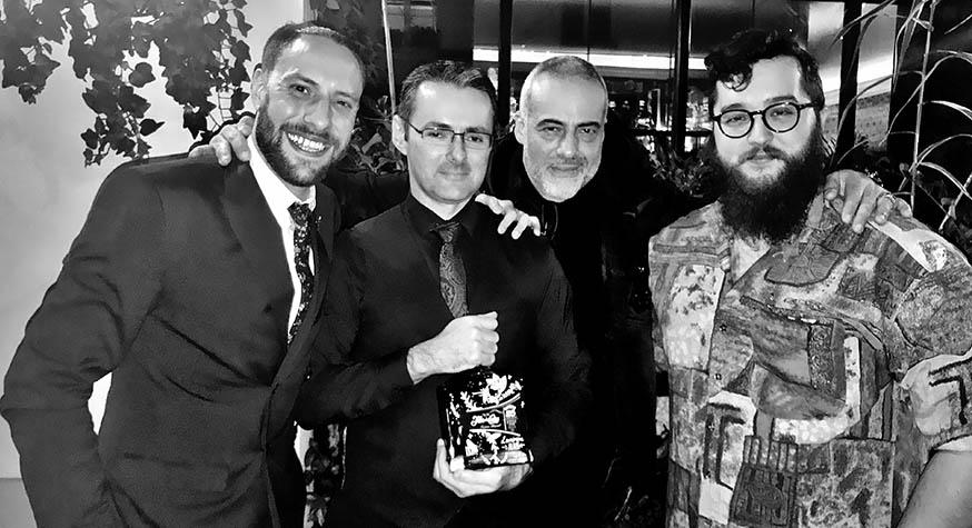 Antonio Oliveira (Global Brand Ambassador Flor de Caña), Alain Dauvergne, Laurent Le Pape, Robin Davalo (Brand Ambassadeur France)