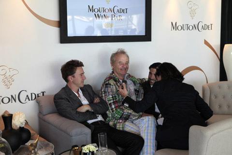 Cannes 2012 : Mouton Cadet Wine bar