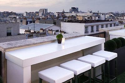 le lounge bar view du novotel vaugirard montparnasse fait peau neuve. Black Bedroom Furniture Sets. Home Design Ideas