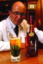 cognac Martell, Ritz, Colin Field