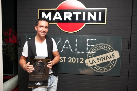 Hedi Mesme, Martini Royale Barman 2012 (c)Martini