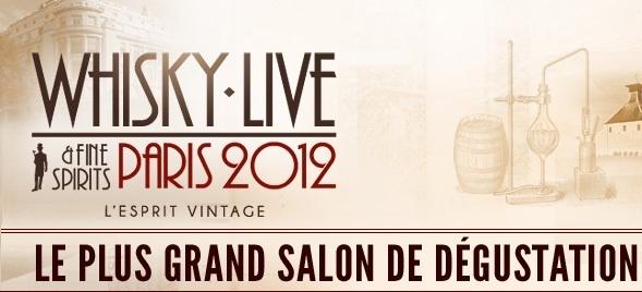 Whisky Live Paris 2012 dévoile le programme de son Atelier Masterclass