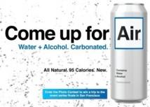 Air : la première boisson alcoolisée au goût de l'eau