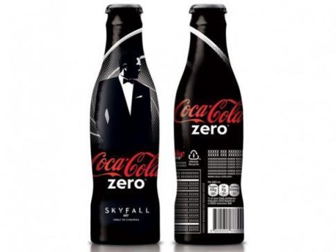 Coca-Cola zero édition limitée Skyfall (DR)