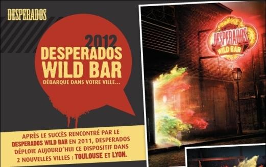 Desperados Wild Bar débarque à Lyon