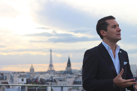 Bacardi Legacy : David Cordoba in Paris