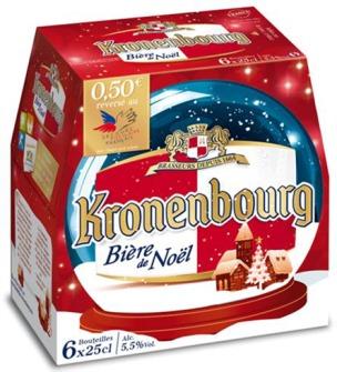 Bière de Noël Kronenbourg // DR