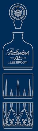 Ballantine's 12 ans dévoile son rituel de dégustation imaginé par Lee Broom
