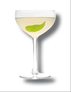 Cocktail Mint Martini par Trois Rivières // DR