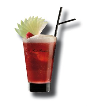 Cocktail Rouge Caraïbes par Trois Rivières // DR