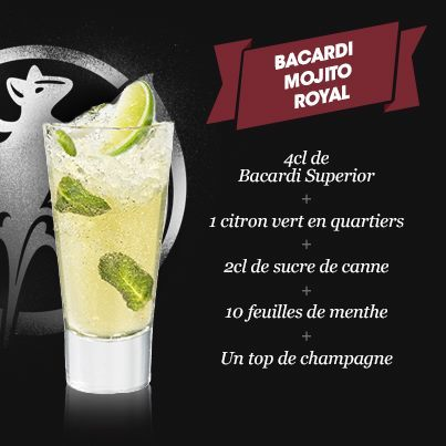 how to drink bacardi mojito