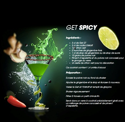 Get spicy for Cocktail get 27
