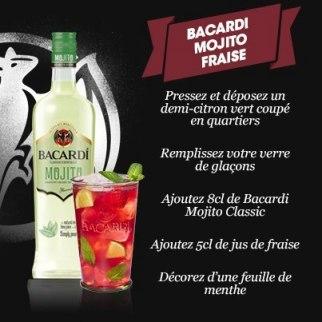 Bacardi Mojito Fraise // © Bacardi France Facebook