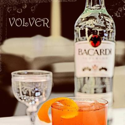 "Cocktail ""Le Volver"" // © Facebook Bacardi Legacy France"