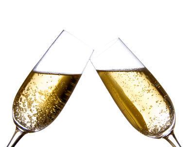 Le champagne : baisse des exportations en 2012