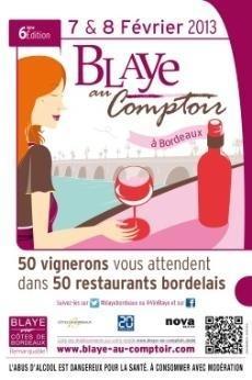 Blaye au Comptoir 2013 à Bordeaux // DR