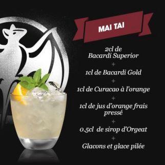 Cocktail Mai Tai // © Page Fan Facebook Bacardi France