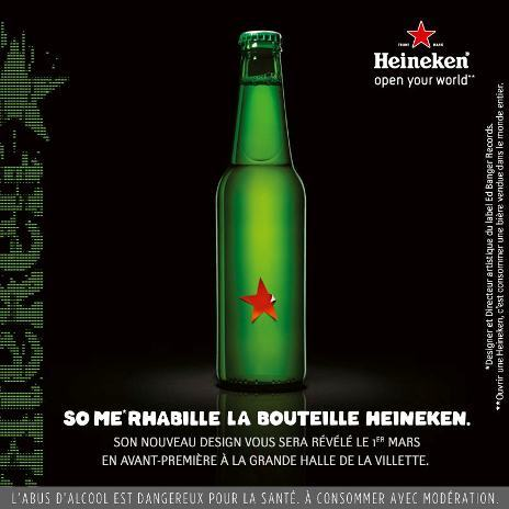 © Page Fan Facebook Heineken France
