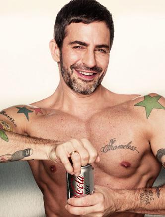 Marc Jacobs pour Coca-Cola Light // © Coca-Cola light