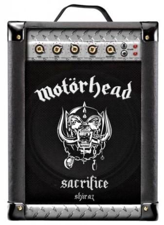 Motörhead présente son bag-in-box de Syrah // DR
