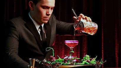 Joel Heffernan et son Winston Cocktail