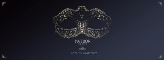 """Unveil your dark side"" by Patrón  XO Café"