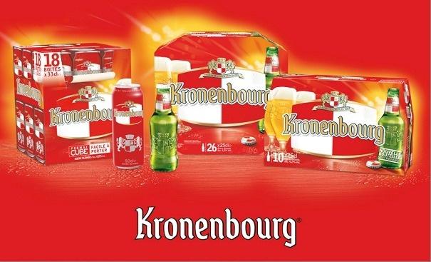 Kronenbourg : nouveau design en 2013 // DR