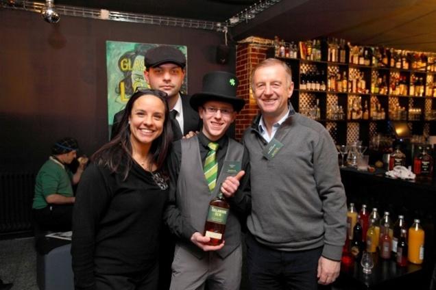 Josselin Dewulf lauréat de l'Irish True Cocktail Tullamore Dew 2013 // DR