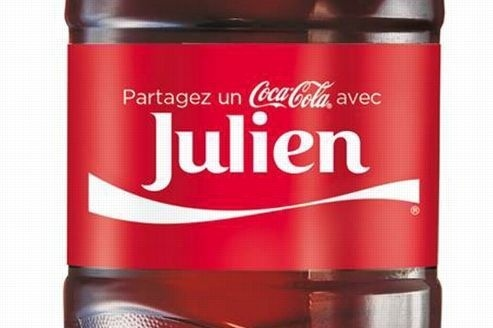 Bouteilles Coca-Cola personnalisées