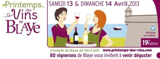 Printemps des Vins de Blaye 2013 // DR