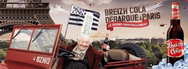 Breizh Cola débarque à Paris // DR