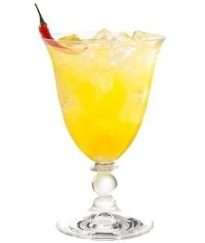Recette cocktail cointreau fizz passion piment for Cointreau mixed drinks