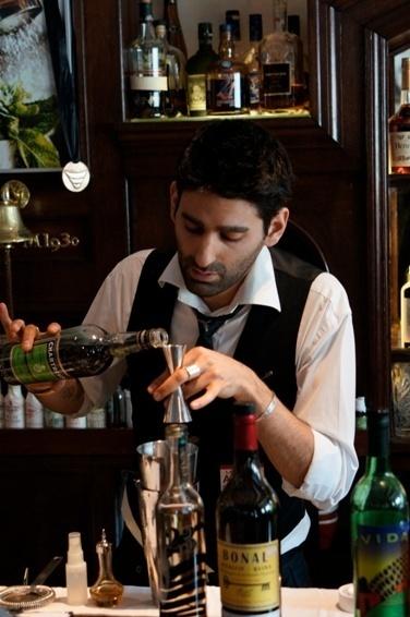 Finaliste Trophées du Bar 2013 : Joseph Akhavan de la Conserverie // DR