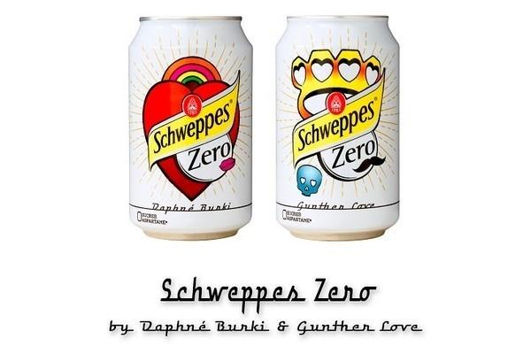 Schweppes Zero by Daphné Bürki et Gunther Love // DR