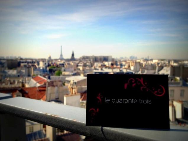 Terrasse du Quarante-Trois Cocktail Bar // DR