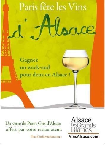"""""""Paris fête les Vins d'Alsace 2013"""" // DR"""