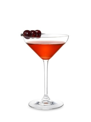 "Recette Cocktail ""Le Manhattan"" // © Hennessy"