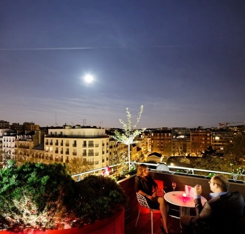 Terrasse du Courtyard by Marriott Paris Boulogne // DR