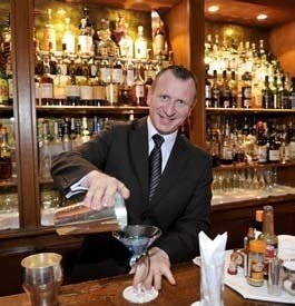 Marc JEAN, Chef barman au Normandy Barrière, à Deauville // DR