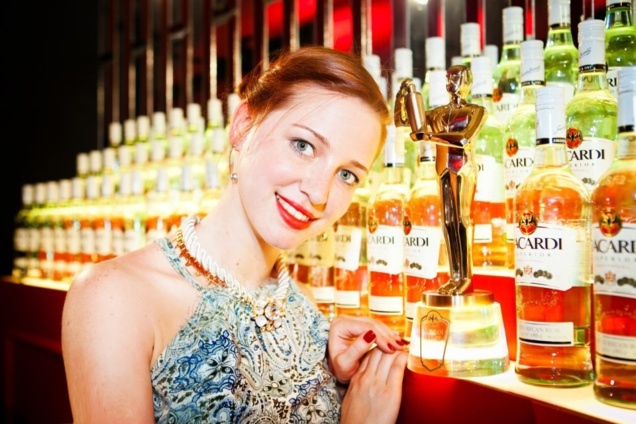 Elizaveta Evdokimova, lauréate de la Bacardi Legacy Global Cocktail Competition © Polina Rabtseva