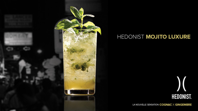 """Recette Cocktail """"Hedonist Mojito Luxure"""" // DR"""