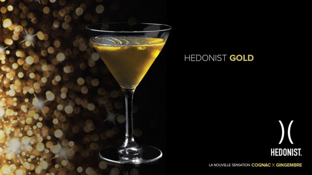 "Recette Cocktail ""Hedonist Gold"" // DR"