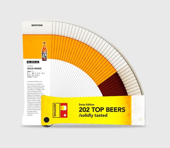 Beertone : le nuancier de bières // DR