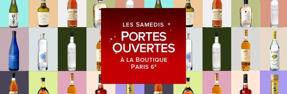 Les prochaines Portes Ouvertes de la boutique LMDW Fine Spirtis à Paris