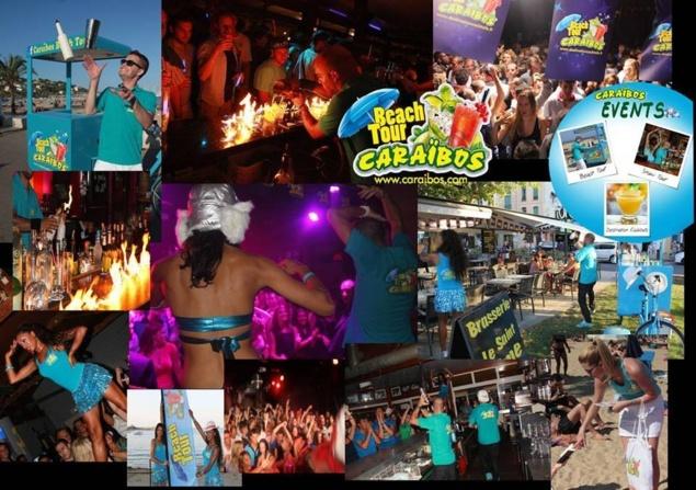 Tournée Caraïbos Beach Tour 2013 // © Caraïbos Events Facebook