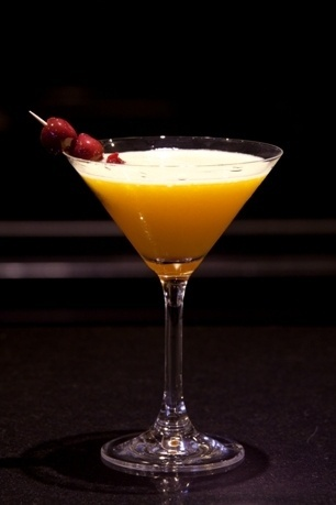 """Recette cocktail """"La Géode"""" by Cyril Beuzart // © Villa Maillot"""